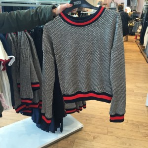 M&S Jacquard Sweat