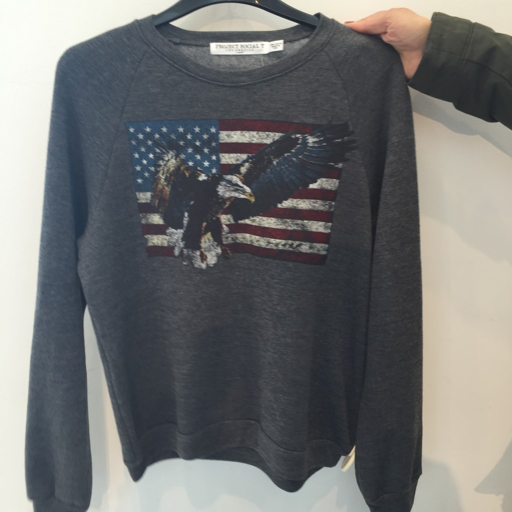 Topshop Eagle sweat