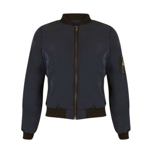 Miss Selfridge Petites Navy Bomber