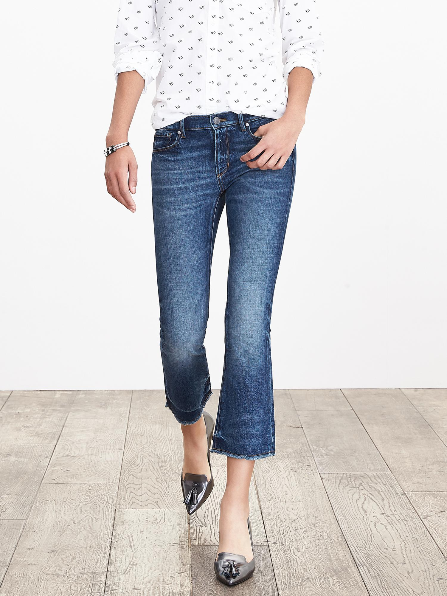 Cropped Kick Flare Jeans for Petites? – Small Town Threads