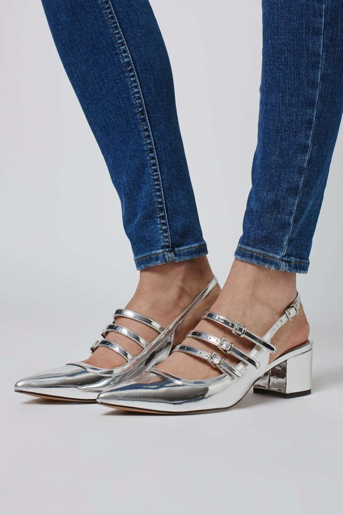 Java Metallic Slingback (£46)