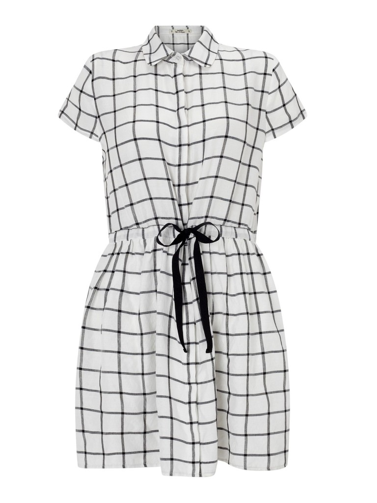Miss Selfridge Petites Check Dress