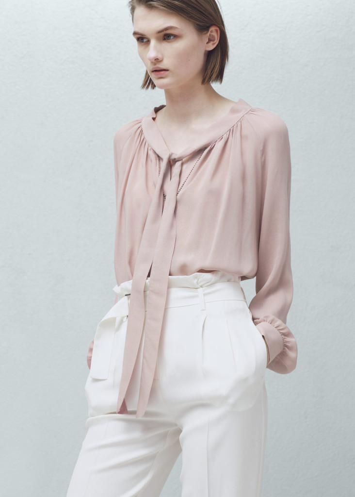 mango-open-work-trim-blouse