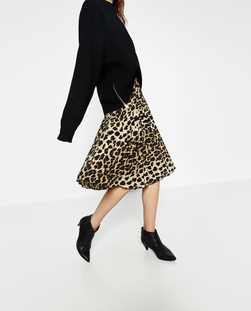 zara-finely-pleated-printed-skirt
