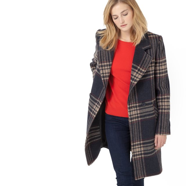 laredoute-soft-grey-tartan-coat