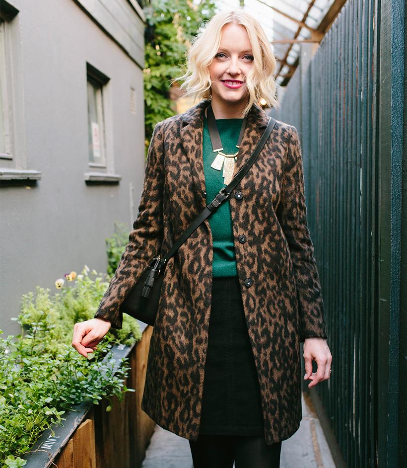 lauren-laverne-wears-boden-leopard-coat
