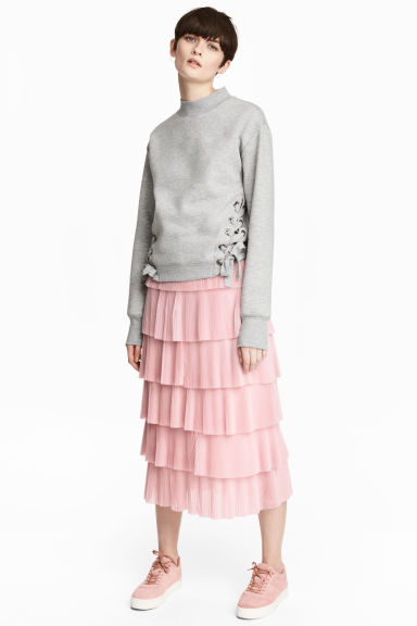 hm-tiered-pink-skirt