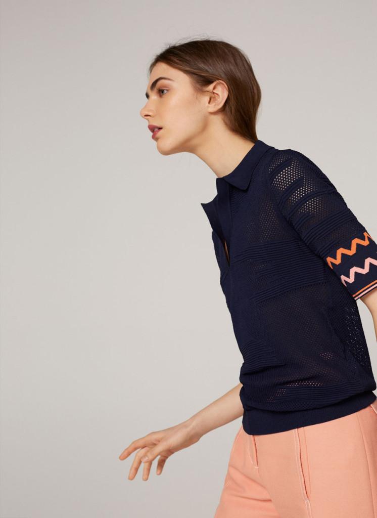 uterque-openwork-knit-polo