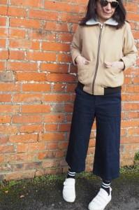 Warehouse tie waist culottes (last season)