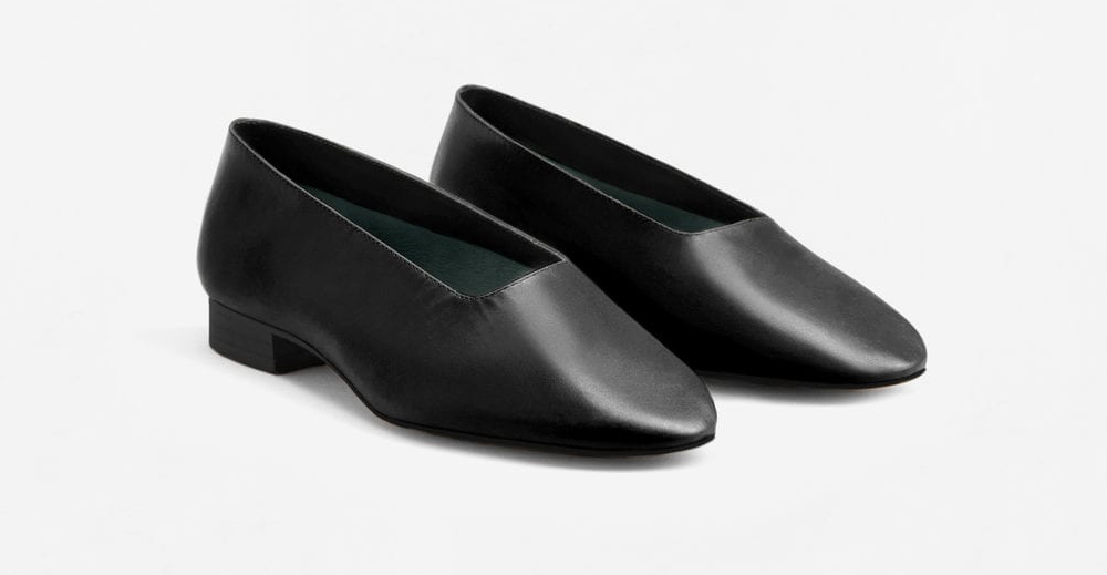 mango-soft-leather-ballerinas-black
