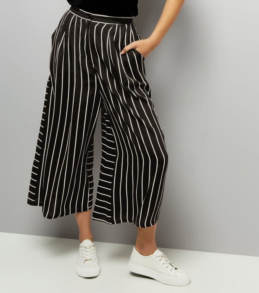 newlook-anita-and-green-black-stripe-culottes-