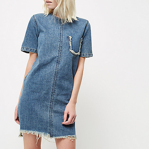 ri-petite-frayed-denim-dress