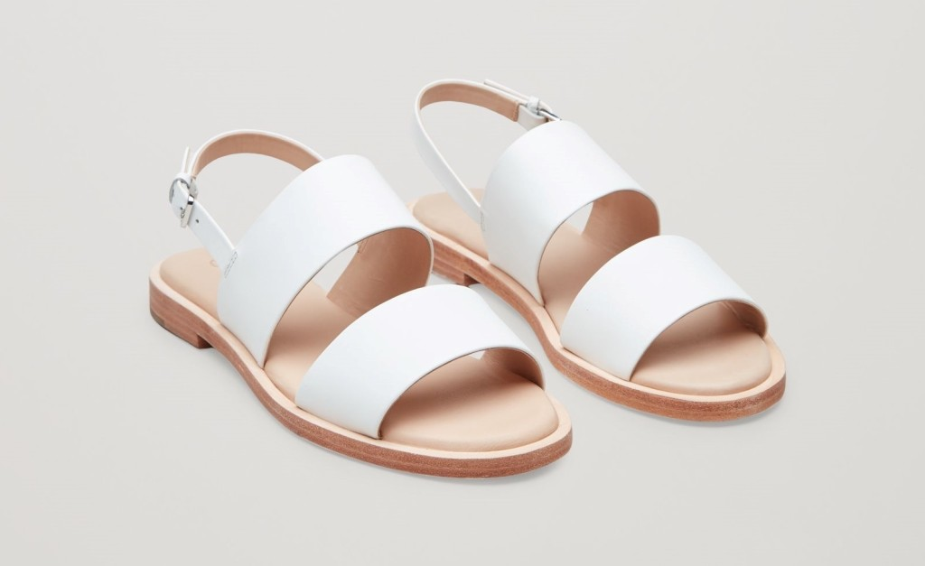 cos-leather-strap-sandals