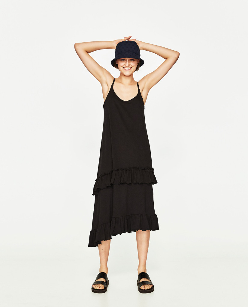 zara-frilled-midi-dress