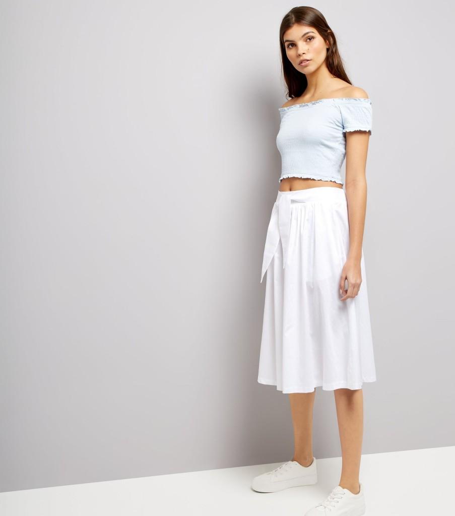 nl-white-tie-waist-midi-skirt