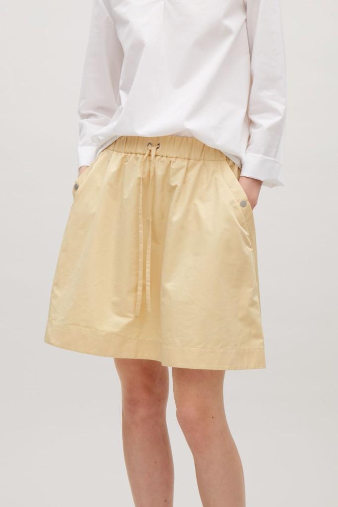 cos-short-skirt-elastic-waist
