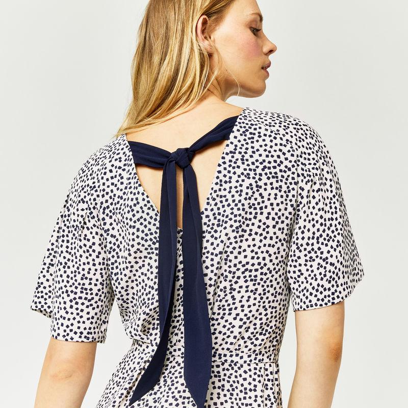 warehouse-mini-mono-flippy-dress-back