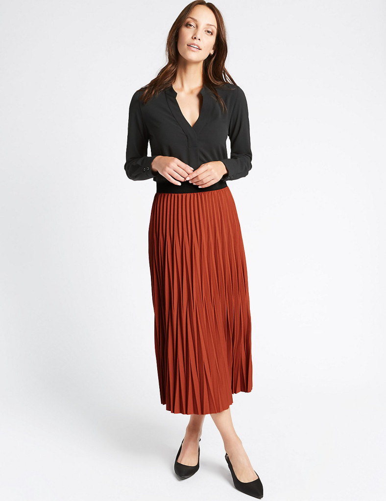 marks-spencer-pleated-skirt-rust