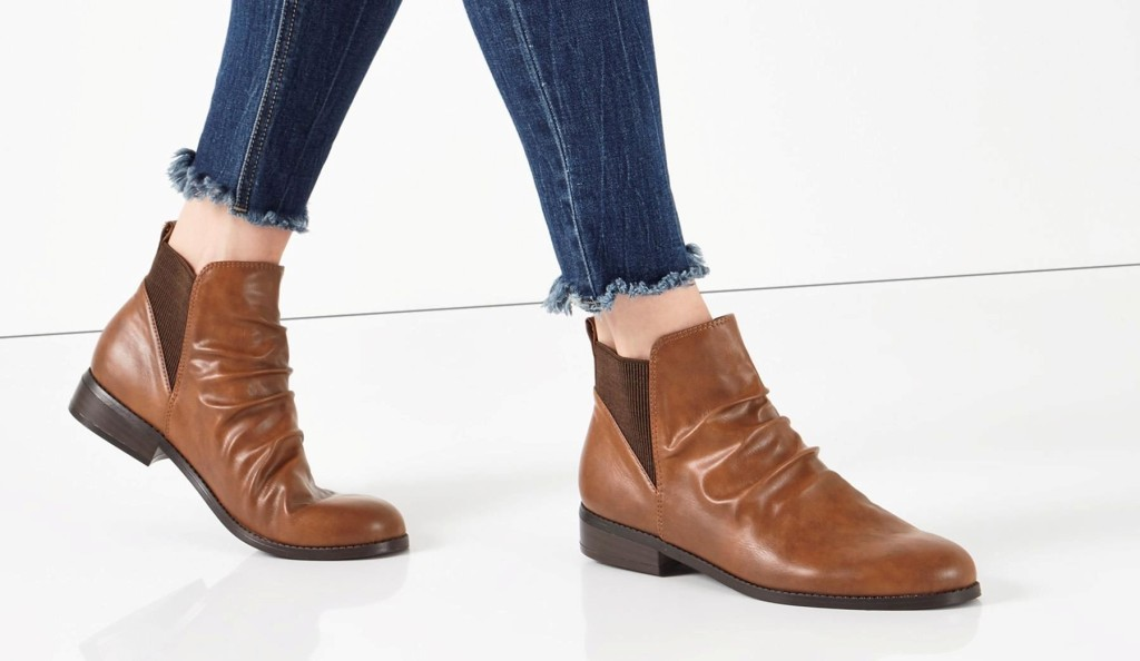 next-ruched-ankle-boot