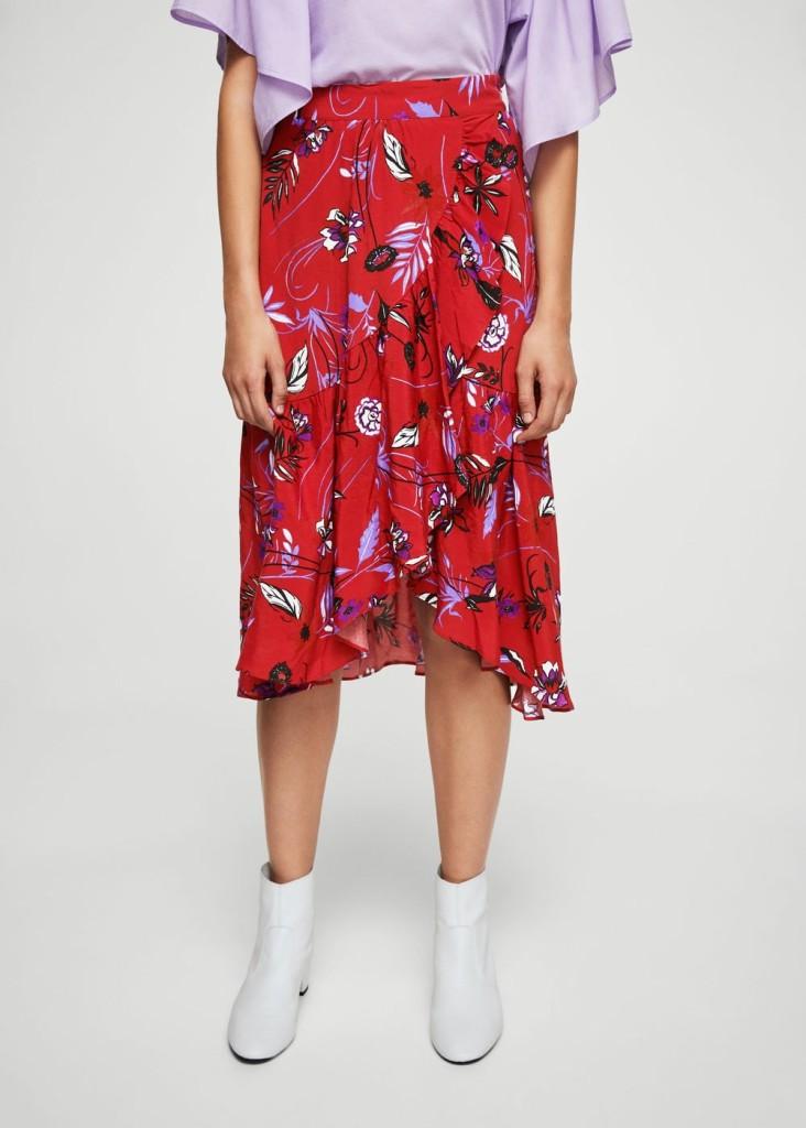 mango-ruffle-wrap-skirt