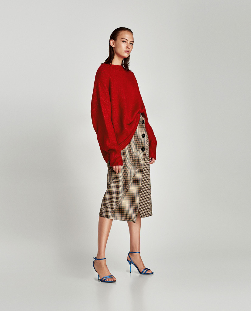 zara-checked-wrap-midi-skirt-front