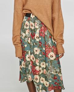 zara-floral-print-midi-skirt