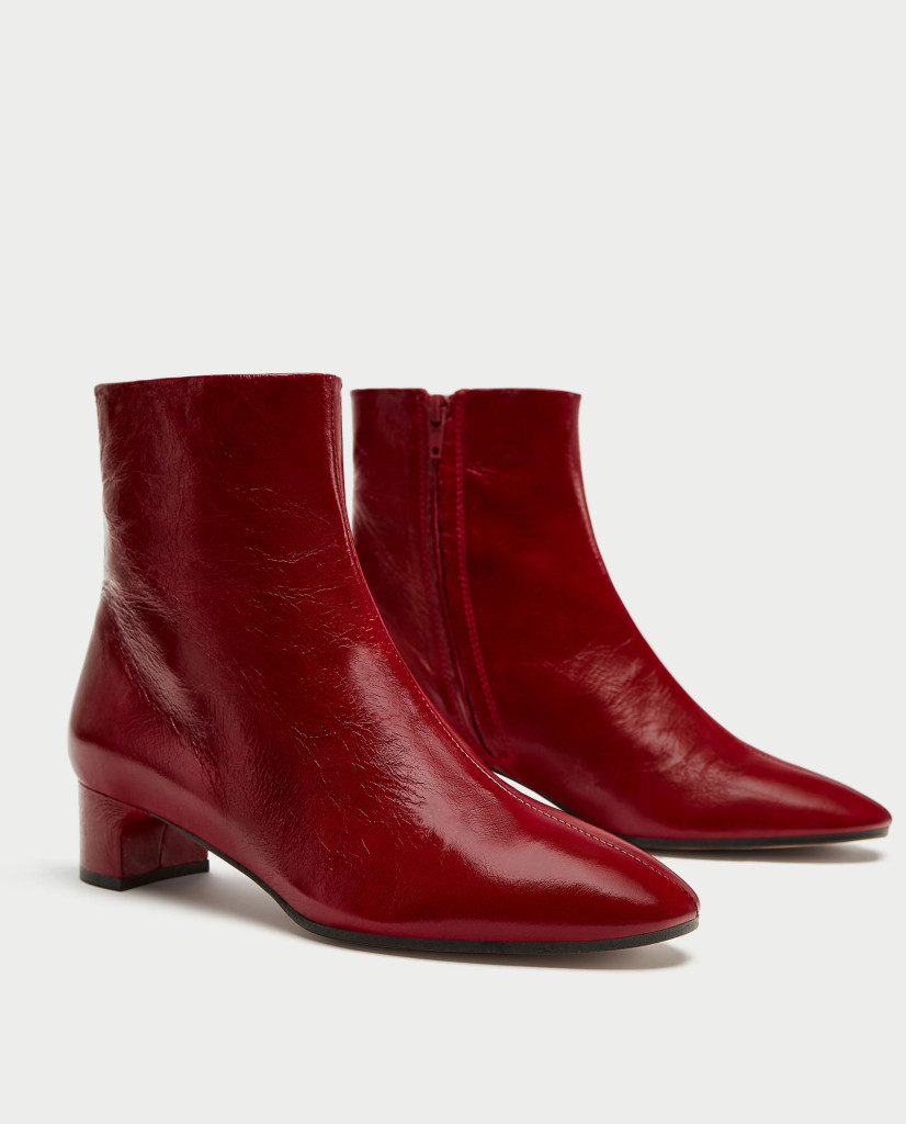 zara-leather-block-heel-ankle-boots