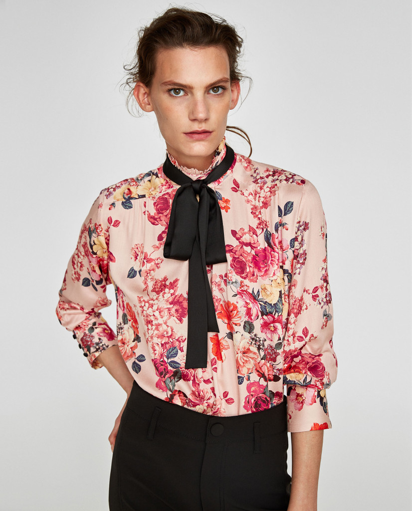 zara-printed-blouse-with-bow