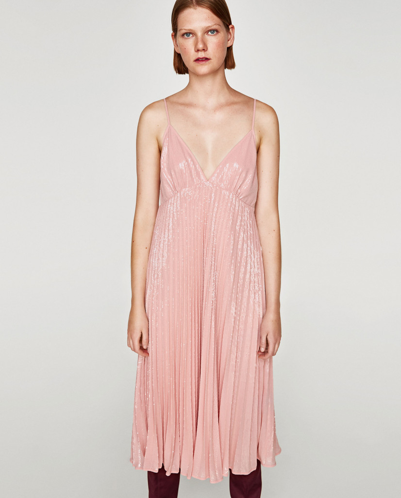 zara-sequinned-midi-dress