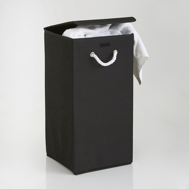 black-denise-folding-laundry-basket