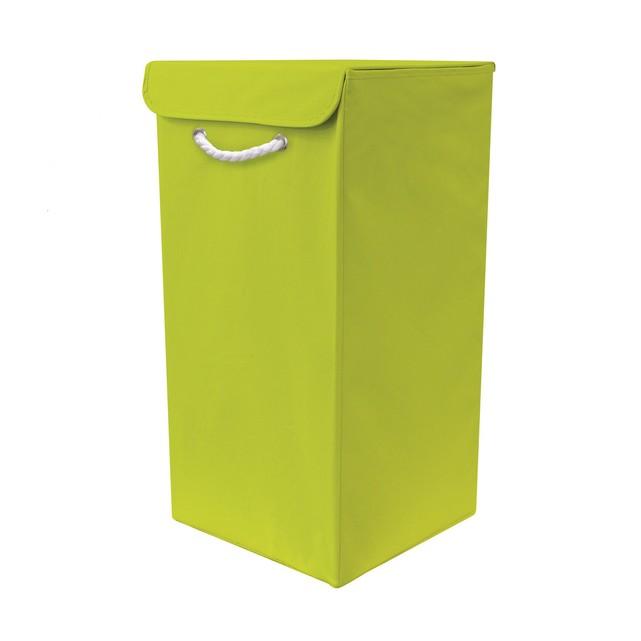 green-denise-folding-laundry-basket