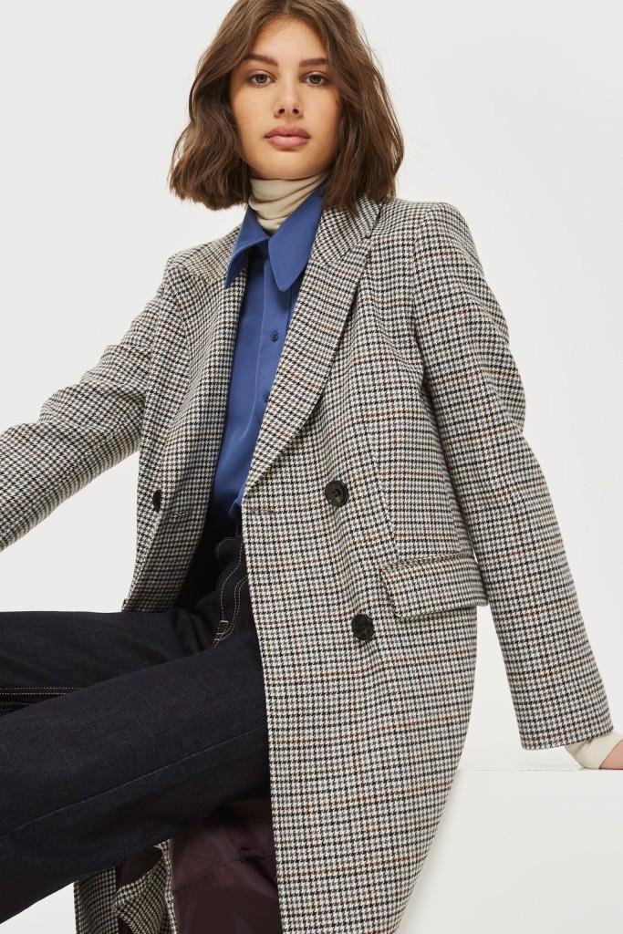 topshop-petite-check-overcoat