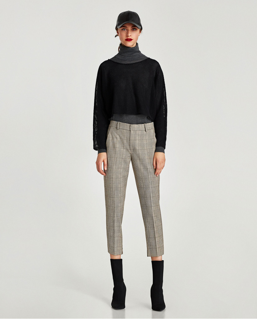 zara-crop-checked-chinos
