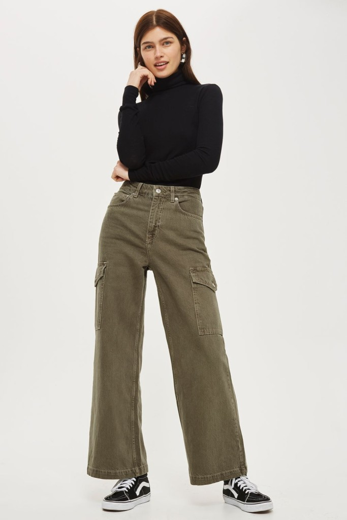 TS-MOTO-Wide-leg-cropped-jeans