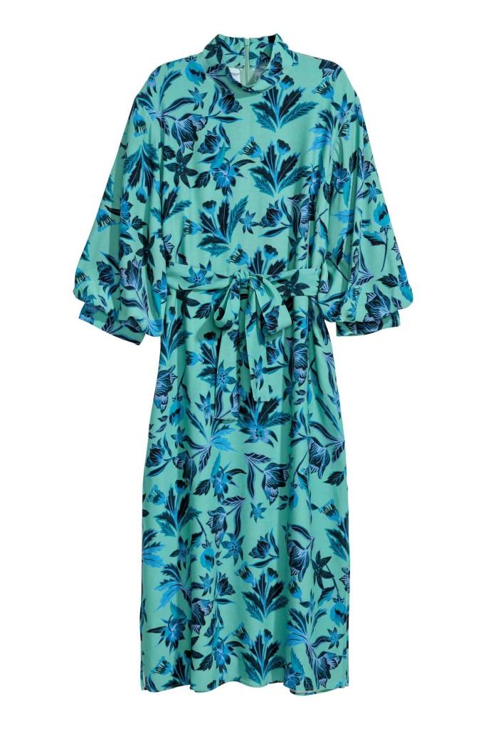 hm-puff-sleeve-dress