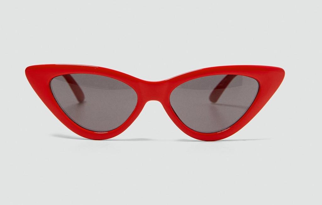 zara-slim-cateye-sunglasses-red
