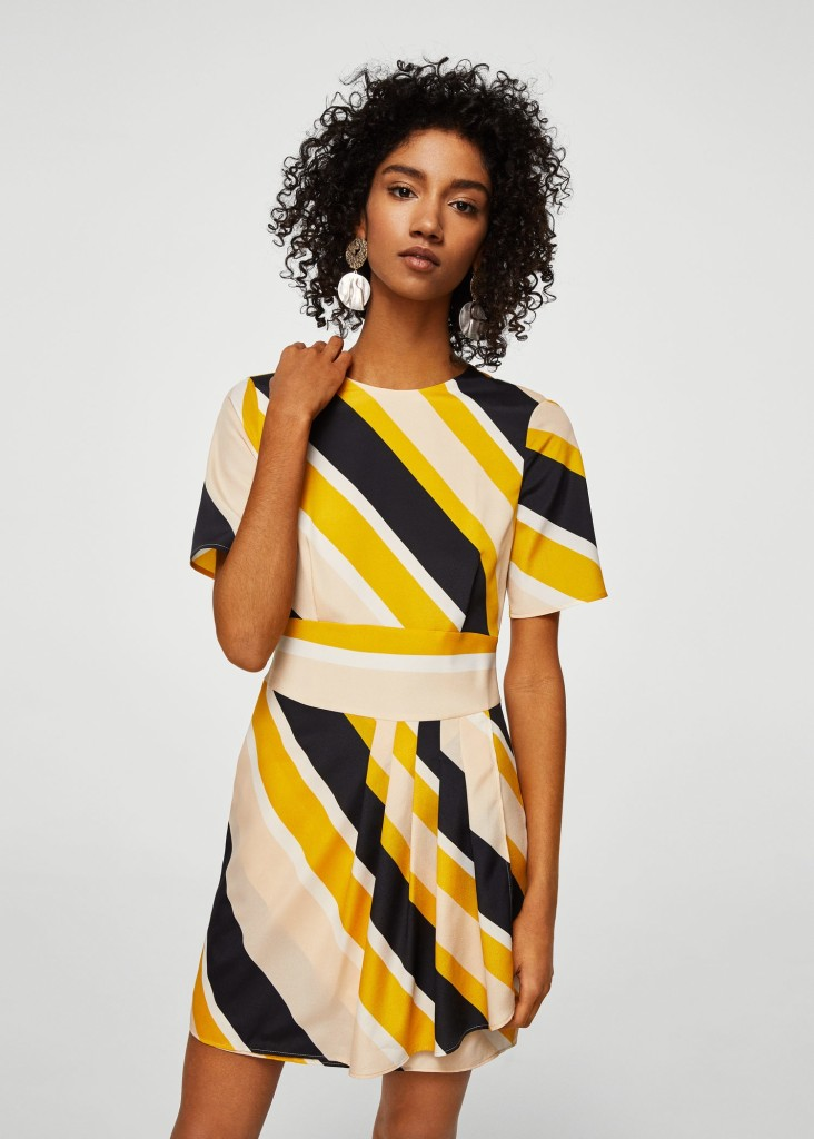 mango-striped-dress