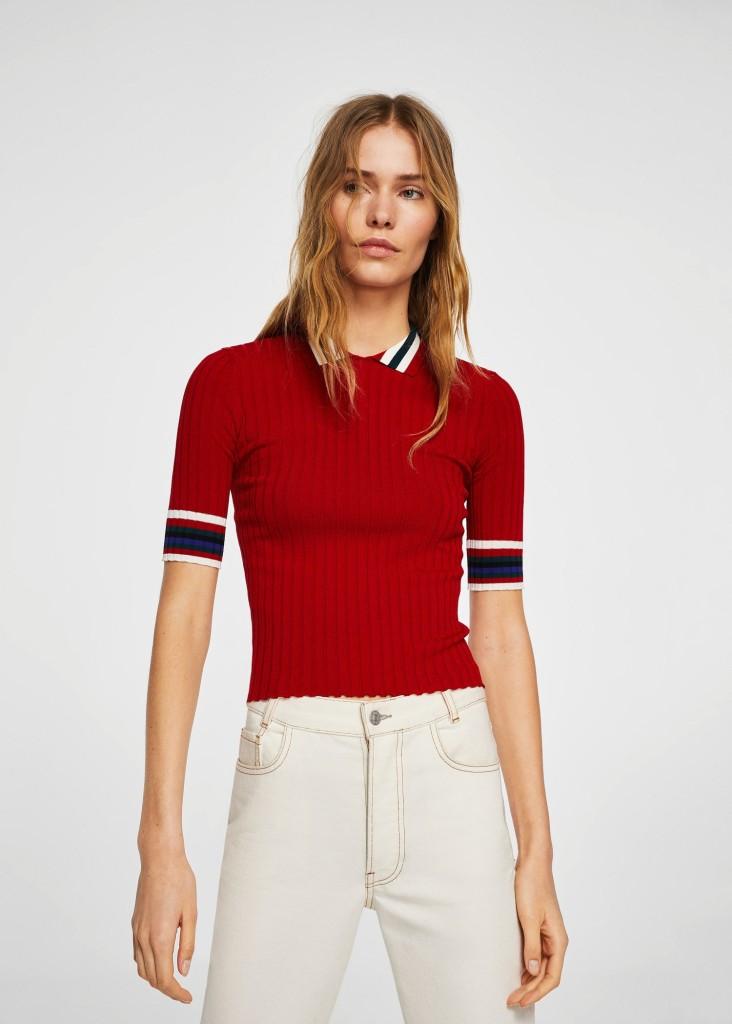 mango-striped-rib-sweater