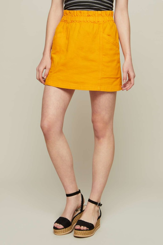 missselfridge-ochre-denim-mini