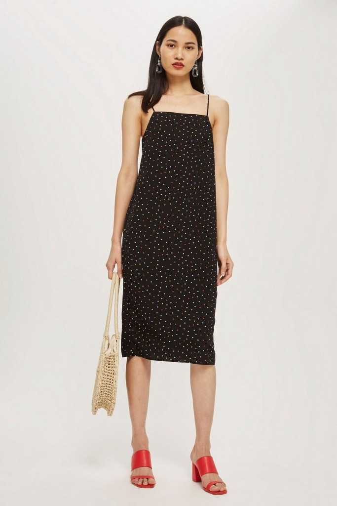 TS-Petite-spot-print-midi-slip-dress