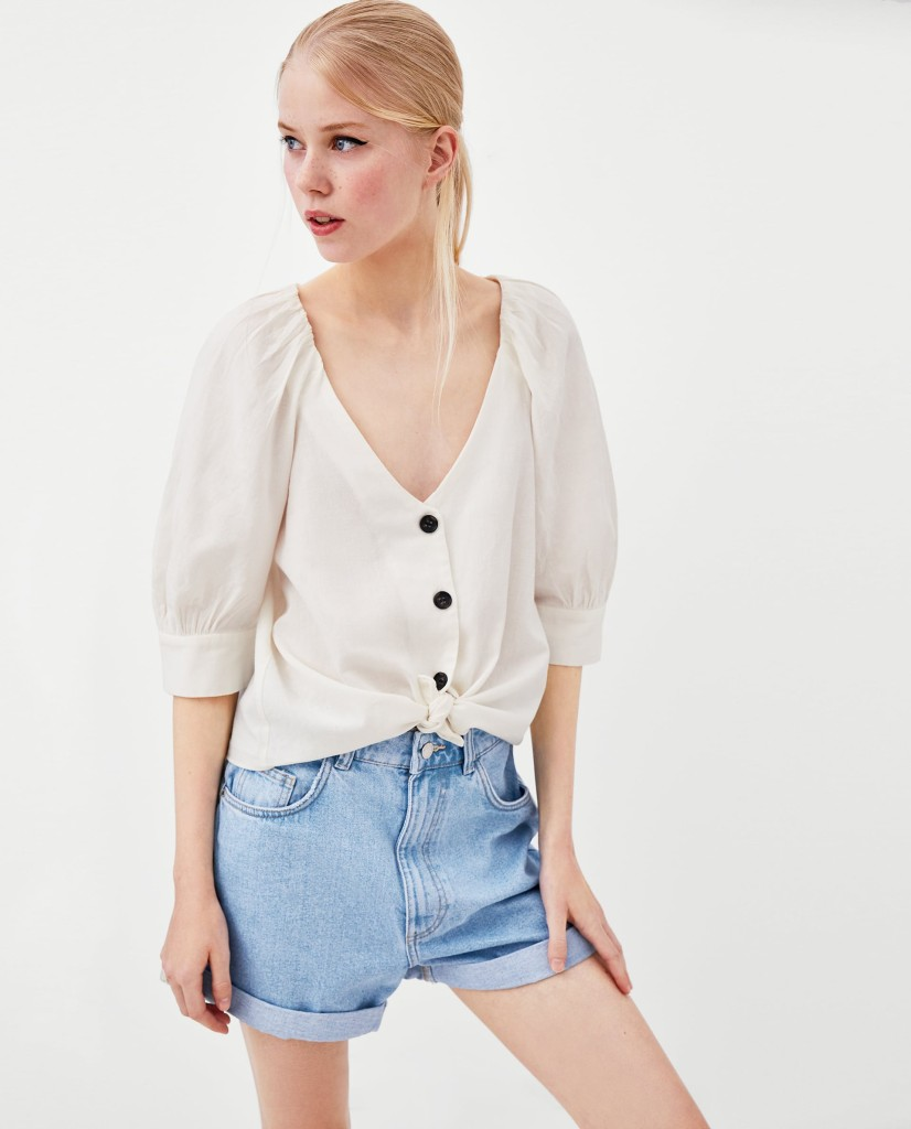 zara-linen-top-with-buttons