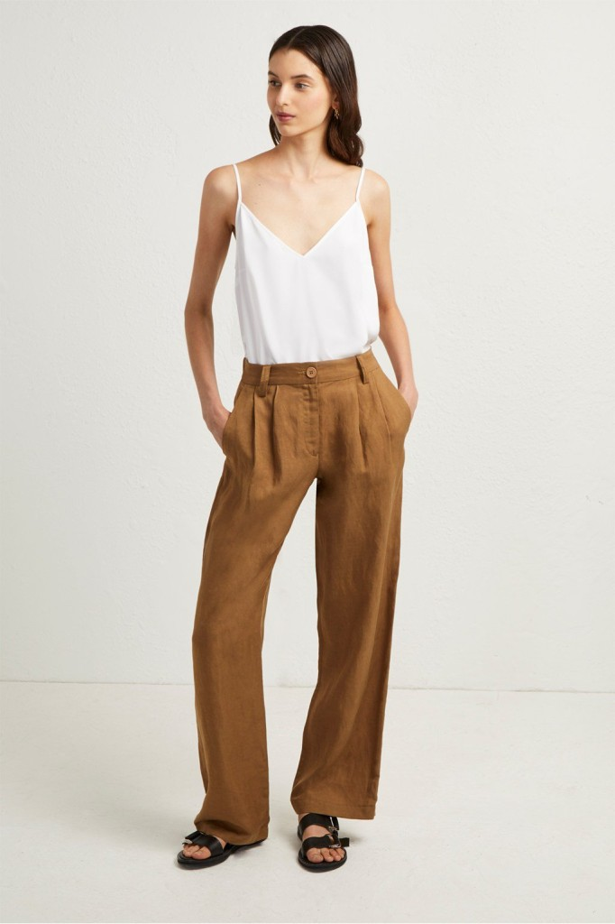 fcuk-caspia-linen-pleated-trousers