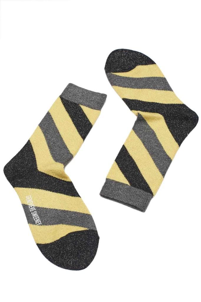 Genevieve-Sweeney-Serora-stripe-yellow-socks