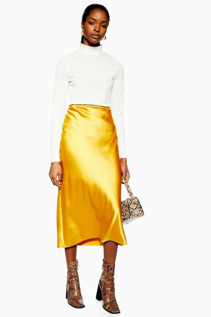 topshop-satin-skirt