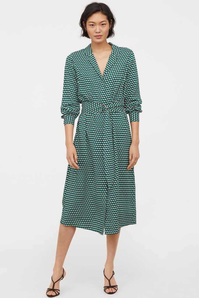 hm-v-neck-dress