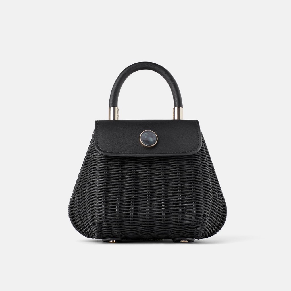 zara-black-raffia-mini-bag