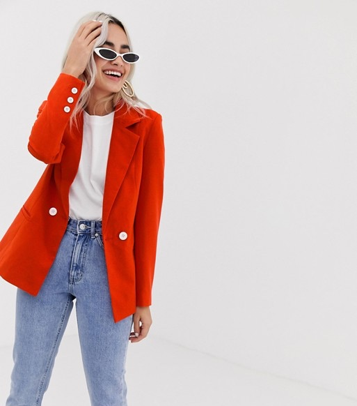 vera-moda-red-blazer