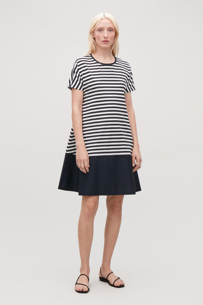 cos-contrast-jersey-dress-stripe