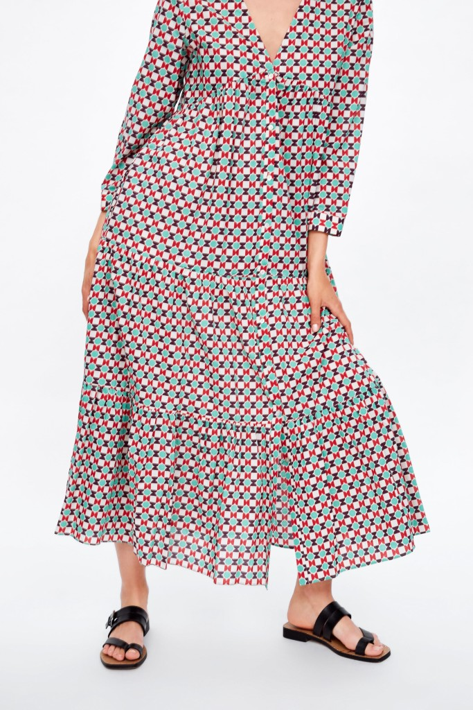 zara-geometric-print-dress2