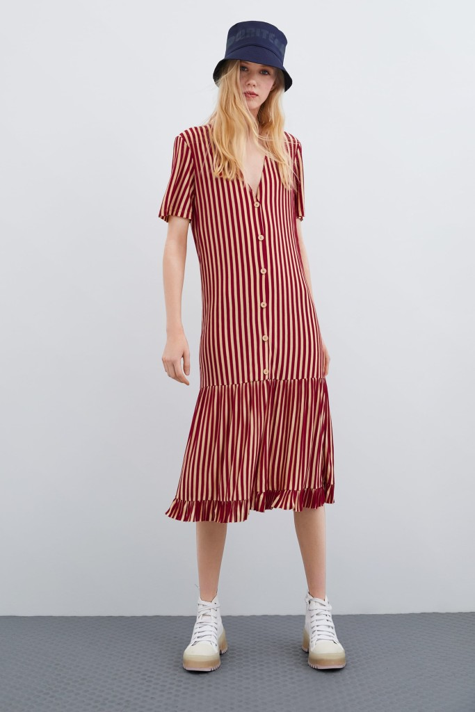 zara-striped-dress